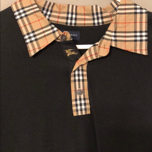 59375ffb9 Burberry Shirts | Authentic Polo Shirt | Poshmark